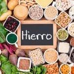 Hierro en la dieta vegetariana